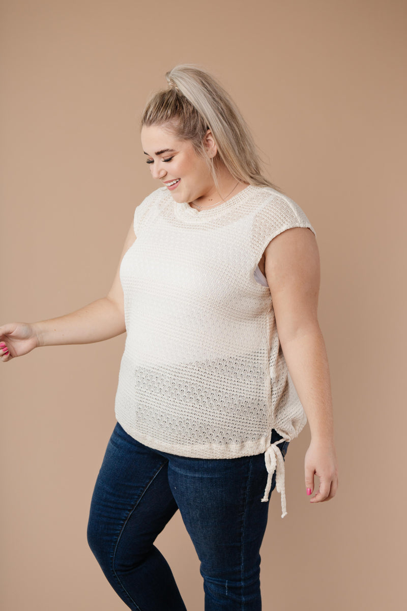 Girls Don't Sweat Sweater In Cream-1XL, 2XL, 3XL, 9-8-2020, BFCM2020, Group A, Group B, Group C, Group D, Large, Medium, Plus, Small, Tops, Warehouse Sale, XL, XS-Womens Artisan USA American Made Clothing Accessories