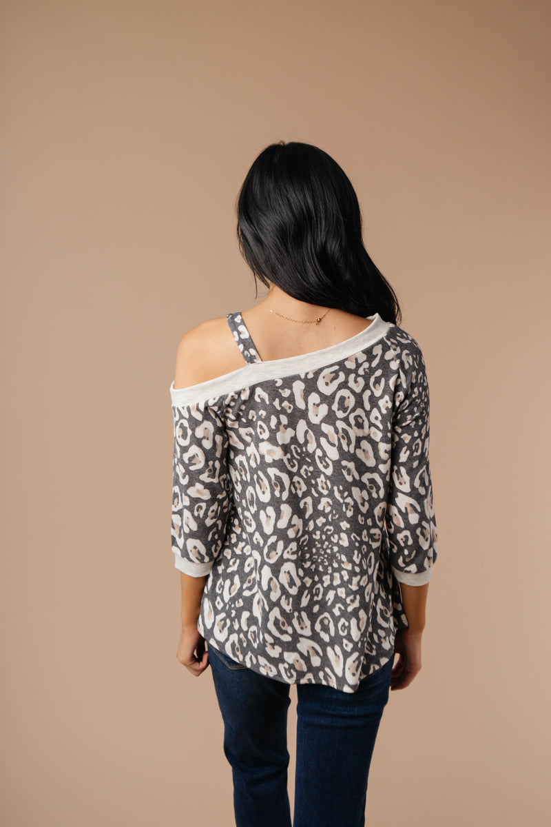 Grin & Bare It Animal Print Top-1XL, 2XL, 3XL, 9-8-2020, Group A, Group B, Group C, Group D, Group S, Large, Medium, Plus, Small, Tops, Warehouse Sale, XL, XS-Womens Artisan USA American Made Clothing Accessories