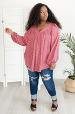Harper Top in Pink-1XL, 2-18-2021, 2XL, 3XL, Group A, Group B, Group C, Large, Made in the USA, Medium, Small, Tops, XL, XS-Womens Artisan USA American Made Clothing Accessories
