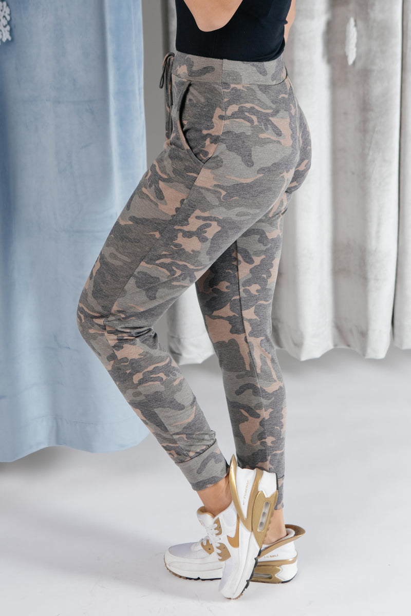 Hidden In Comfort Camo Joggers-11-30-2020, 1XL, 2XL, 3XL, Bottoms, CMDB2020, Group A, Group B, Group C, Group V, Group X, Large, Medium, Small, XL, XS-Womens Artisan USA American Made Clothing Accessories