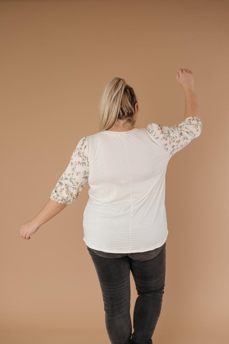 Honeysuckle Blouse - On Hand-1XL, 2XL, 3XL, 9-10-2020, BFCM2020, Group A, Group B, Group C, Group D, Group S, Group T, Large, Made in the USA, Medium, Plus, Small, Tops, Warehouse Sale, XL, XS-Small-Womens Artisan USA American Made Clothing Accessories