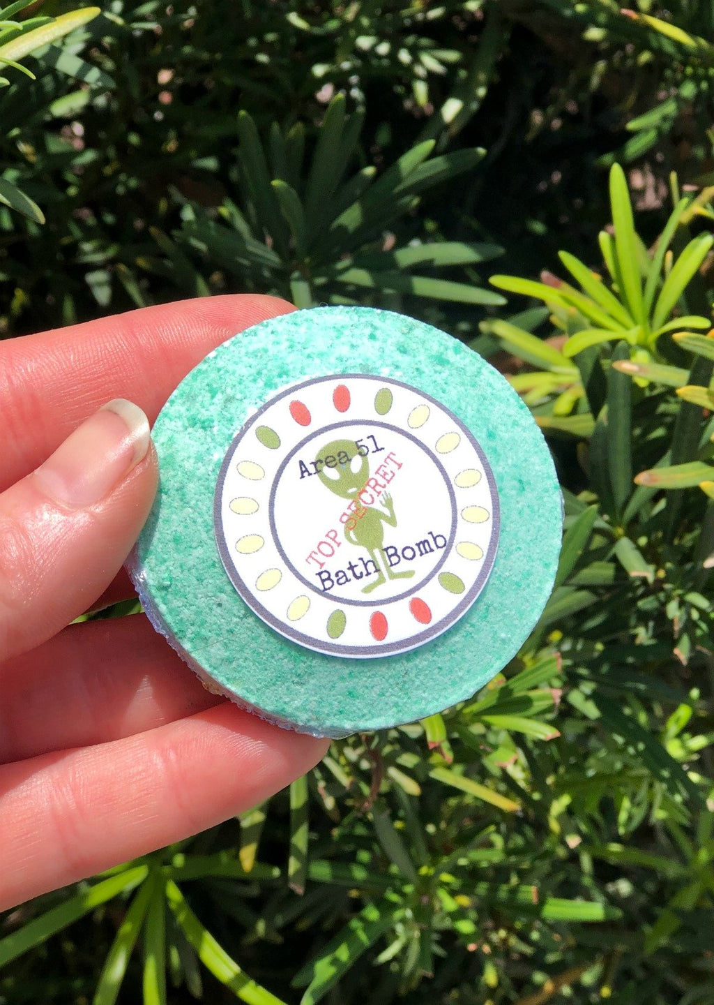Area 51 Bath Bombs--Womens Artisan USA American Made Clothing Accessories