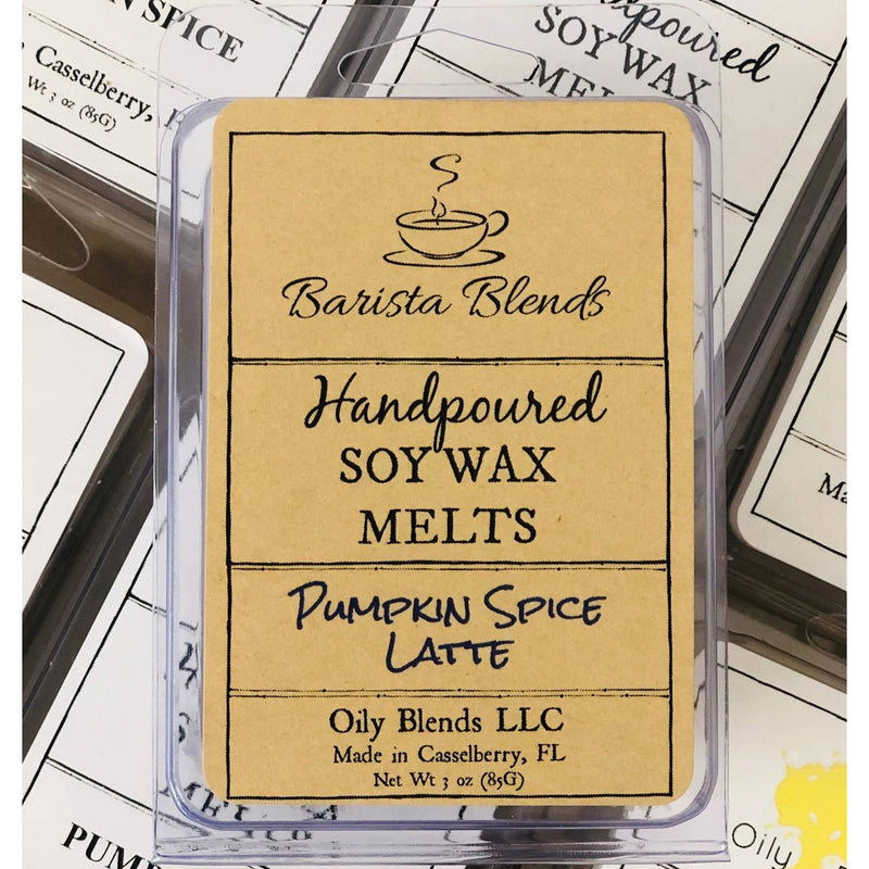 Barista Blends Coffee House 3 oz Soy Wax Melts--Womens Artisan USA American Made Clothing Accessories