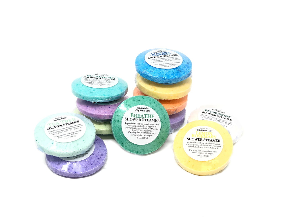 Shower Steamers--Womens Artisan USA American Made Clothing Accessories