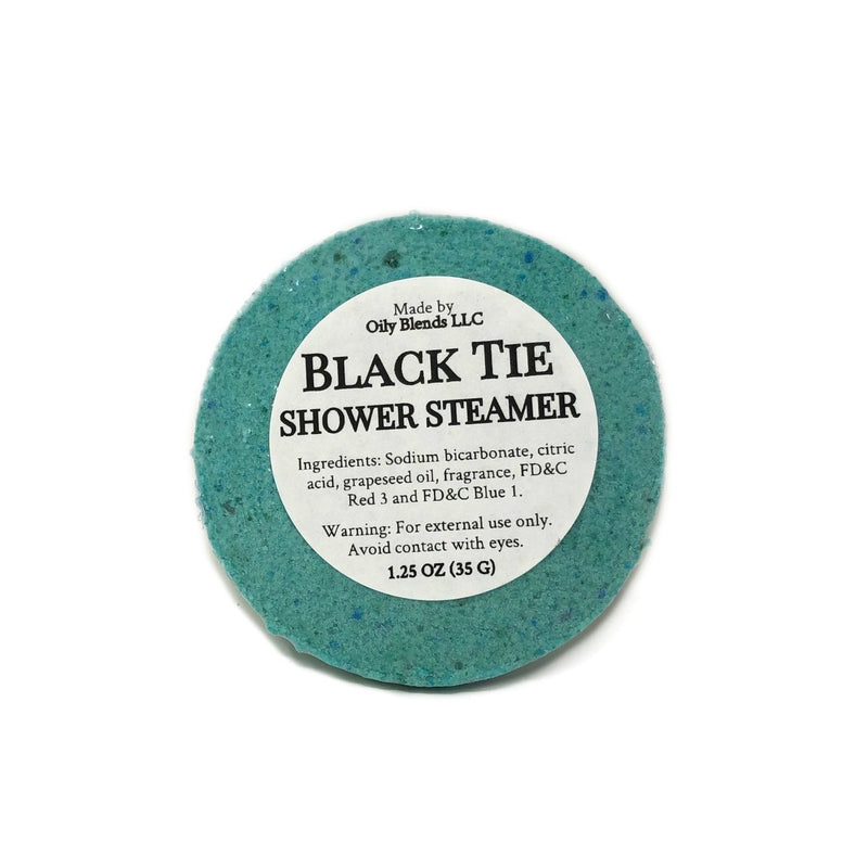 Men's Shower Steamers-Black Tie-Womens Artisan USA American Made Clothing Accessories