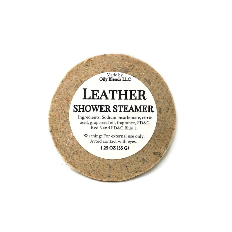 Men's Shower Steamers-Leather-Womens Artisan USA American Made Clothing Accessories