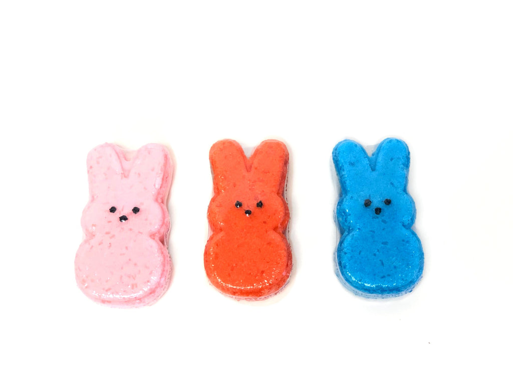 Easter Bunny Bath Bombs--Womens Artisan USA American Made Clothing Accessories