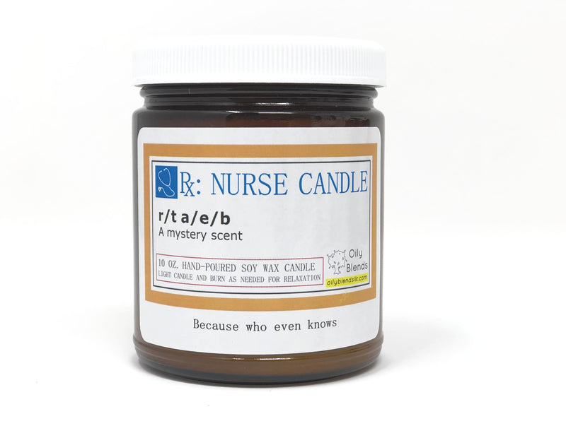 Nurse Candles - 10 oz Soy Wax Candles-r/t a/e/b-Womens Artisan USA American Made Clothing Accessories