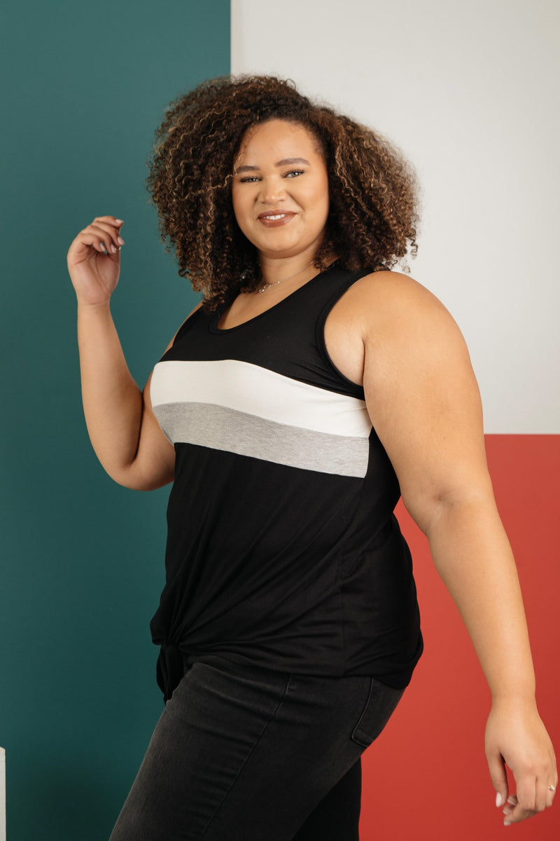 Keep Your Stripes Close In Black-1-15-2021, 1-5-2021, 1XL, 2XL, 3XL, Bonus, Group A, Group B, Group C, Group U, Group X, Group Y, Group Z, Large, Made in the USA, Medium, Small, Tops, XL, XS-Womens Artisan USA American Made Clothing Accessories