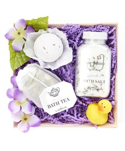 Essential Oil Bath Collection Gift Sets-Bath & Body-Lavender-Womens Artisan USA American Made Clothing Accessories