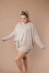 Lightweight Striped Pullover In Taupe-1XL, 2XL, 3XL, 9-8-2020, BFCM2020, Group A, Group B, Group C, Group D, Group U, Group V, Group X, Group Y, Group Z, Large, Made in the USA, Medium, Plus, Small, Tops, Warehouse Sale, XL, XS-Womens Artisan USA American Made Clothing Accessories