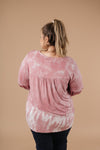 Marvelous Mauve Tie Dye V Neck-1XL, 2XL, 3XL, 9-17-2020, Group A, Group B, Group C, Group D, Group S, Large, Medium, Plus, Small, Tops, Warehouse Sale, XL, XS-Womens Artisan USA American Made Clothing Accessories