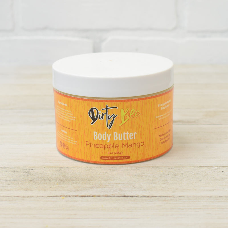 Pineapple Mango Body Butter-Bath & Body, body, Body Butter, Dirty Bee, Dropship, Pineapple Mango, RETAIL-Womens Artisan USA American Made Clothing Accessories