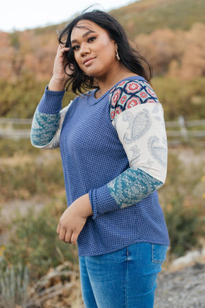 Playful Patterns Top-10-22-2020, 1XL, 2XL, 3XL, BFCM2020, Group A, Group B, Group C, Group D, Group T, Large, Medium, Plus, Small, Tops, XL, XS-Womens Artisan USA American Made Clothing Accessories