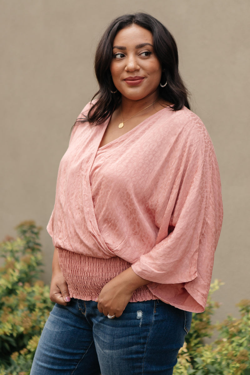 Simply Smocked Hem Top-10-15-2020, 10-23-2020, 1XL, 2XL, 3XL, Bonus, Group A, Group B, Group C, Large, Medium, Plus, Small, Tops, XL, XS-Womens Artisan USA American Made Clothing Accessories