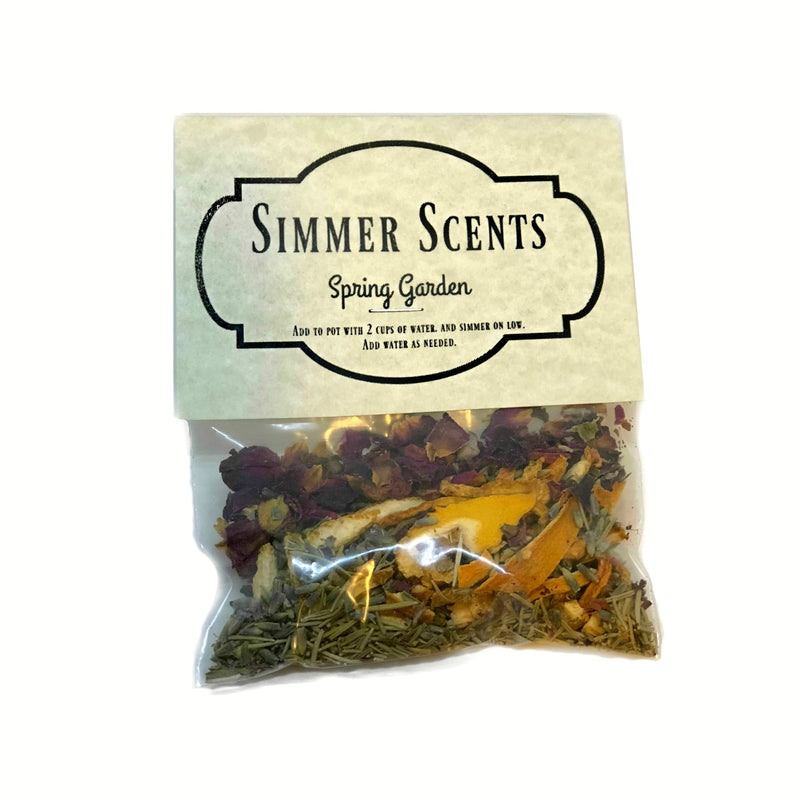 Simmer Scents-Spring Garden-Womens Artisan USA American Made Clothing Accessories