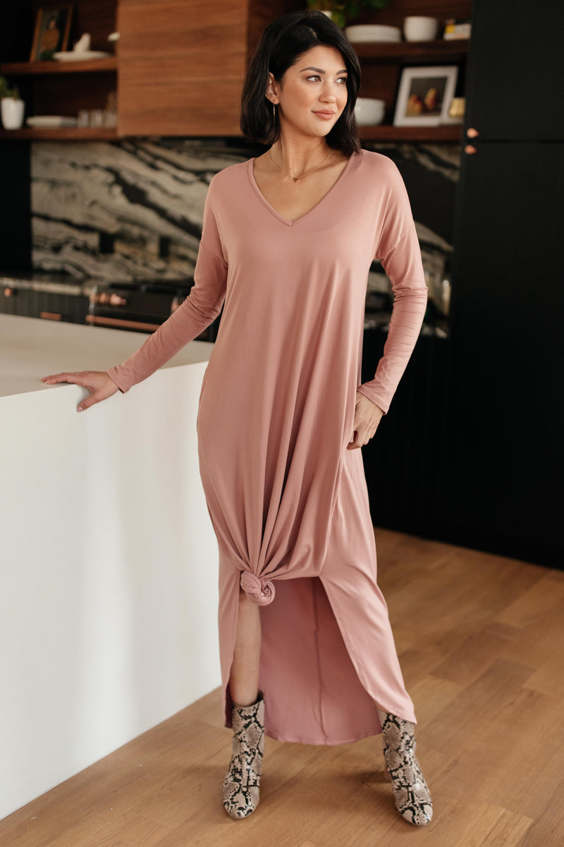 The Melanie Maxi Dress in Mauve-12-10-2020, 12-18-2020, 1XL, 2XL, Bonus, Dresses, Group A, Group B, Group C, Group U, Group X, Group Y, Group Z, Large, Made in the USA, Medium, Small, XL-Womens Artisan USA American Made Clothing Accessories