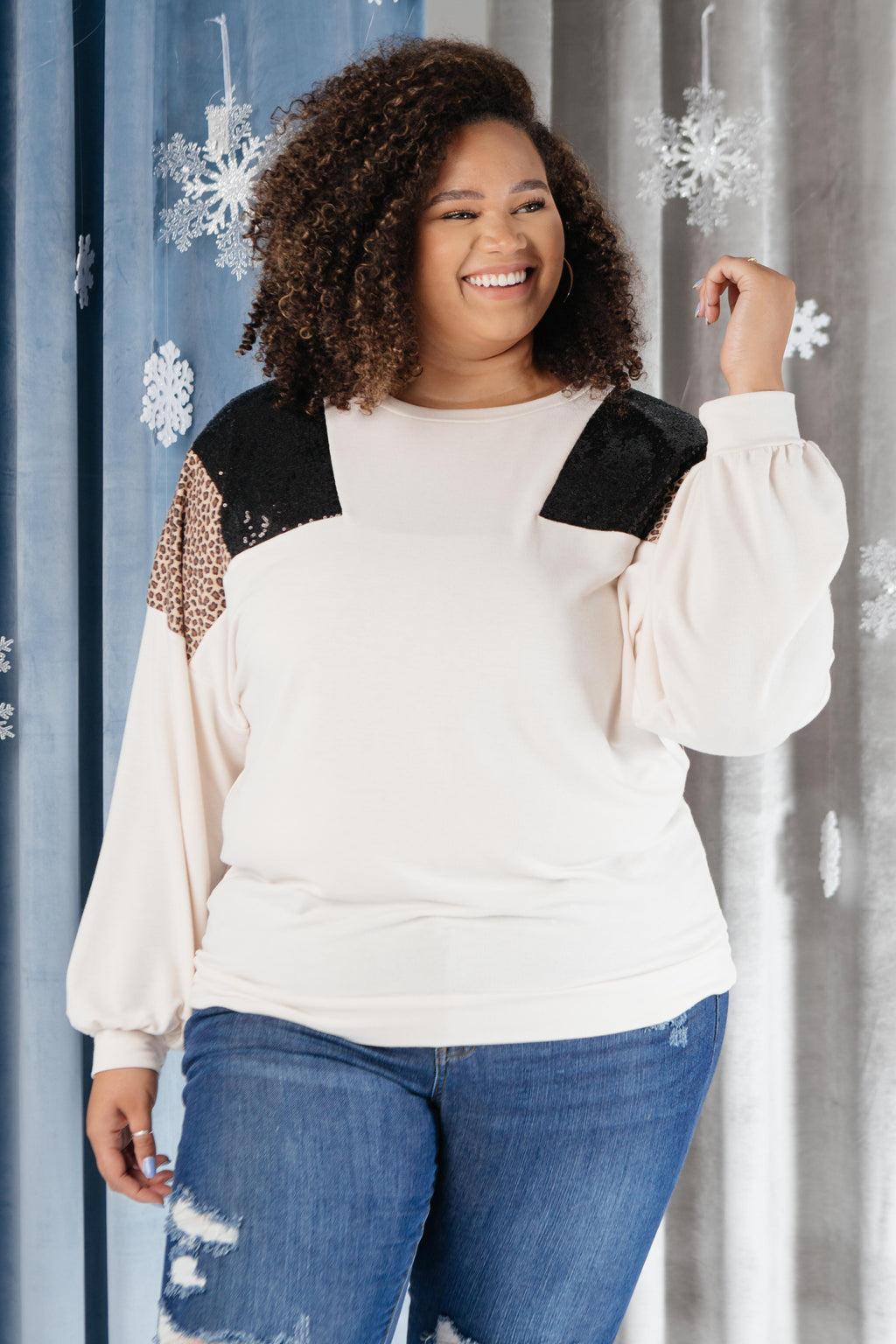 The Spotty Holiday Top-11-30-2020, 1XL, 2XL, 3XL, CMDB2020, Group A, Group B, Group C, Group V, Group X, Group Z, Large, Medium, Small, Tops, XL, XS-Womens Artisan USA American Made Clothing Accessories
