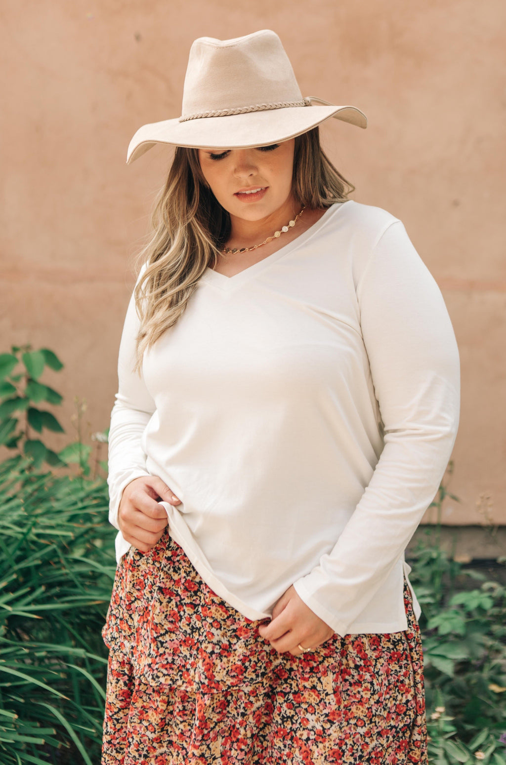 Tiffany Top in Pearl-10-16-2020, 10-8-2020, 1XL, 2XL, 3XL, BFCM2020, Bonus, Group A, Group B, Group C, Group D, Group S, Large, Medium, Plus, Small, Tops, XL, XS-Womens Artisan USA American Made Clothing Accessories