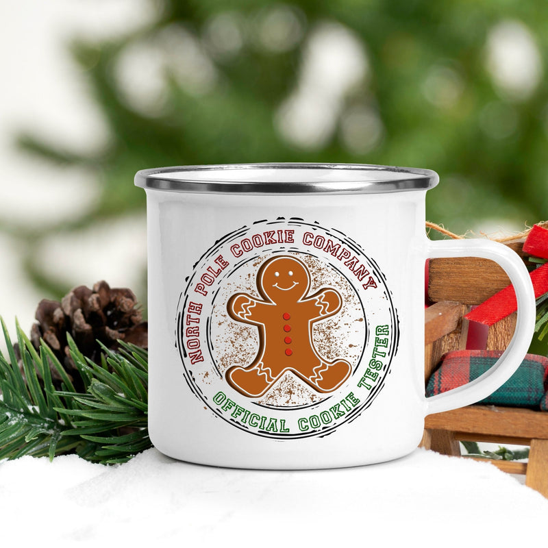North Pole Cookie Company Campfire Mug - On Hand-camper mug, Christmas, coffee mug, EOY2020, Seasonal-Womens Artisan USA American Made Clothing Accessories