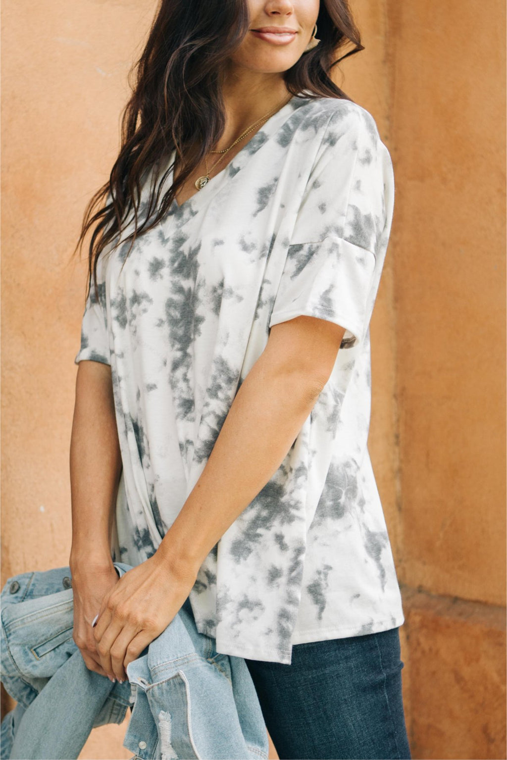 Washed Away Top-1XL, 2XL, 3XL, 9-29-2020, BFCM2020, Group A, Group B, Group C, Group D, Group S, Group U, Group X, Group Y, Group Z, Large, Made in the USA, Medium, Plus, Small, Tops, XL, XS-Womens Artisan USA American Made Clothing Accessories