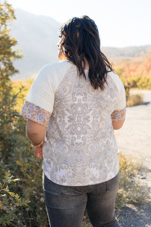 When Pattern Meets Knit Top-10-22-2020, 1XL, 2XL, 3XL, BFCM2020, Group A, Group B, Group C, Group D, Large, Medium, Plus, Small, Tops, XL, XS-Womens Artisan USA American Made Clothing Accessories