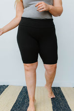 Aero Biker Shorts In Black-1XL, 2XL, 3XL, 8-6-2020, BFCM2020, Bottoms, Final Few Friday, Group A, Group B, Group C, Group D, Large, Made in the USA, Medium, Plus, Restocks, Small, XL, XS-Womens Artisan USA American Made Clothing Accessories