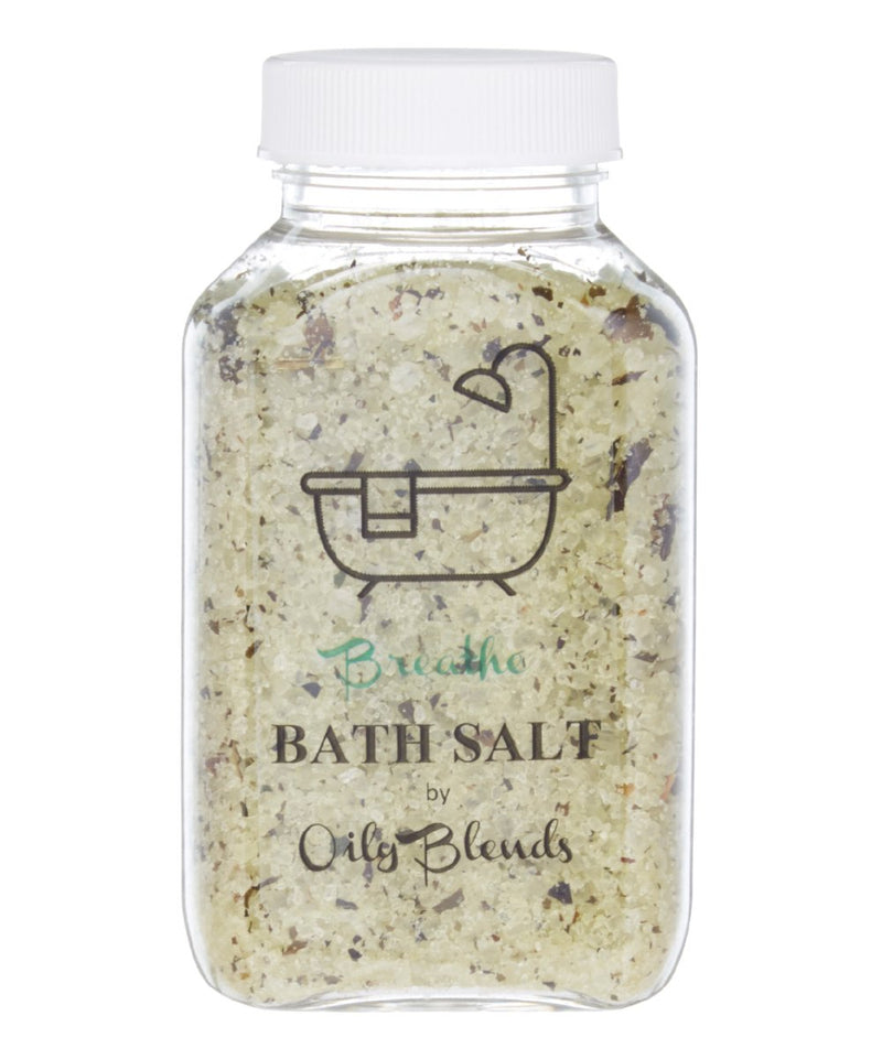 Essential Oil 6 oz Bath Salts-Breathe-Womens Artisan USA American Made Clothing Accessories