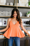Daisy Woven Cami In Coral-1XL, 2XL, 3XL, 4TH2020, 6-19-2020, 6-9-2020, BFCM2020, Bonus, Group A, Group B, Group C, Group D, Large, Medium, Plus, Small, Tops, XL, XS-Womens Artisan USA American Made Clothing Accessories