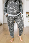 Dotty Spotty Joggers-1-21-2020, Bottoms, Plus, Sync-Womens Artisan USA American Made Clothing Accessories