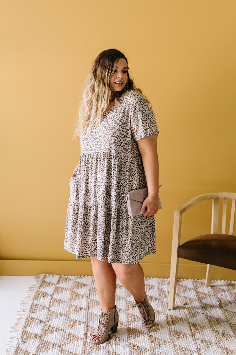 Fading Spots Dress-1XL, 2XL, 3XL, 6-16-2020, 6-26-2020, Bonus, Dresses, Final Few Friday, Group A, Group B, Group C, Group D, Group T, Large, Medium, Plus, Small, XL, XS-Womens Artisan USA American Made Clothing Accessories