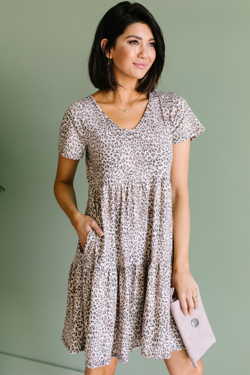 Fading Spots Dress-1XL, 2XL, 3XL, 6-16-2020, 6-26-2020, Bonus, Dresses, Final Few Friday, Group A, Group B, Group C, Group D, Large, Medium, Plus, Small, XL, XS-Womens Artisan USA American Made Clothing Accessories