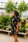 Flowers At Midnight Dress-1XL, 2XL, 3XL, 6-30-2020, 7-10-2020, Bonus, Dresses, Group A, Group B, Group C, Large, Medium, Plus, Small-Womens Artisan USA American Made Clothing Accessories