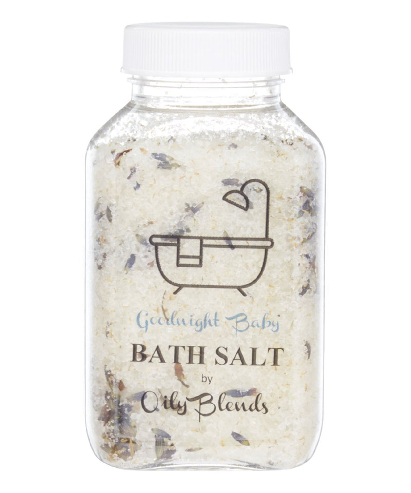 Essential Oil 6 oz Bath Salts-Goodnight Baby-Womens Artisan USA American Made Clothing Accessories