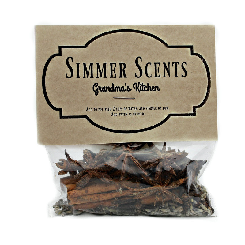 Simmer Scents-Grandma's Kitchen-Womens Artisan USA American Made Clothing Accessories