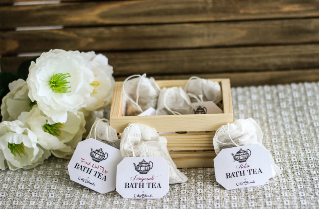 Bath Tea Six Pack Sampler--Womens Artisan USA American Made Clothing Accessories