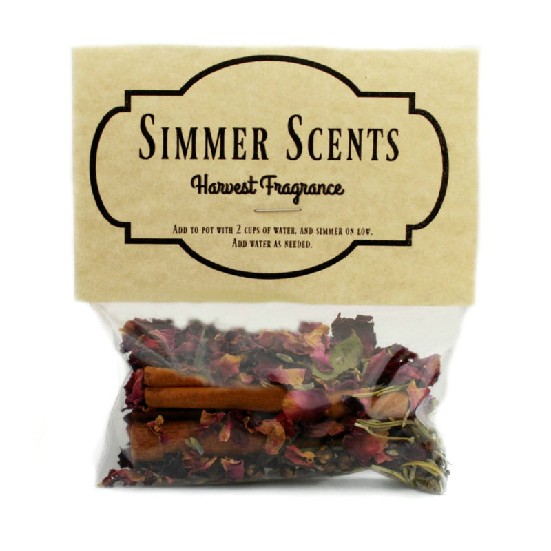 Simmer Scents-Harvest Fragrance-Womens Artisan USA American Made Clothing Accessories