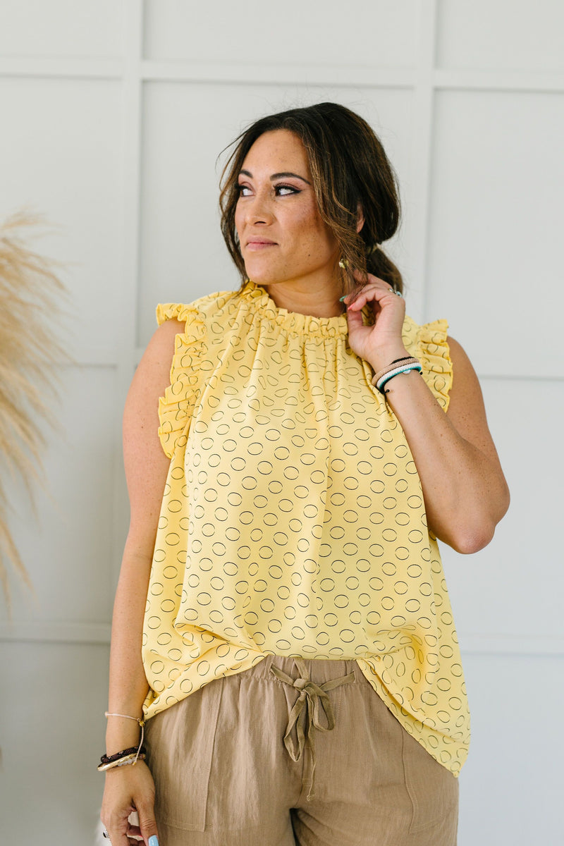 Heyday Ruffled Blouse-1XL, 2XL, 3XL, 6-12-2020, 6-2-2020, Bonus, Group A, Group B, Group C, Group D, Large, Medium, Plus, Small, Tops, XL, XS-Womens Artisan USA American Made Clothing Accessories