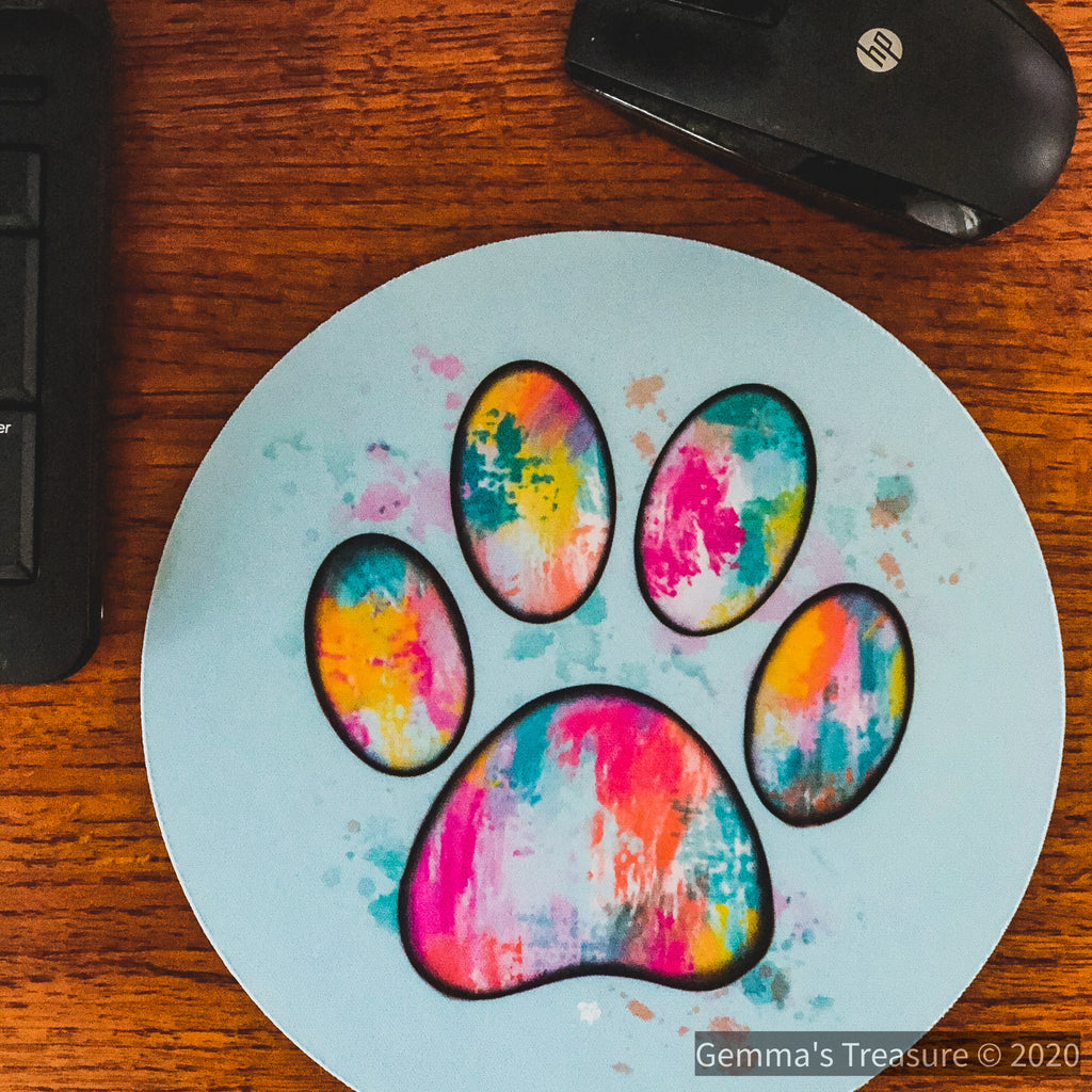 Mouse Pads-Gifts, Made in the USA, Pets-Womens Artisan USA American Made Clothing Accessories