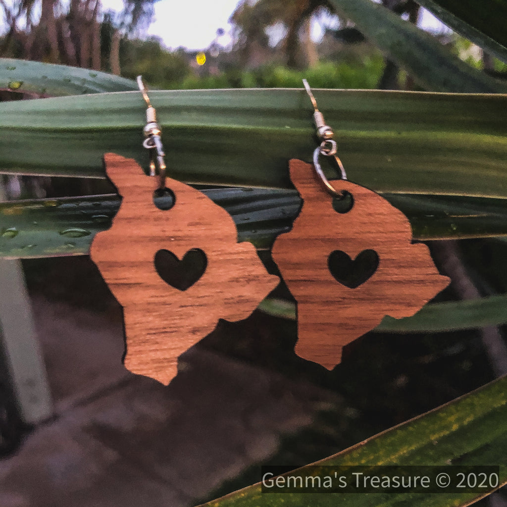 Big Island Love - Made in Hawaii-Hawaii-Womens Artisan USA American Made Clothing Accessories