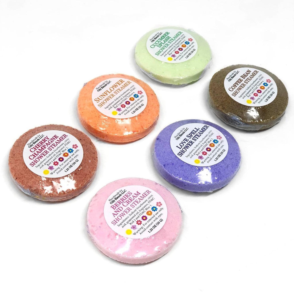 Sunshine Line Shower Steamers--Womens Artisan USA American Made Clothing Accessories