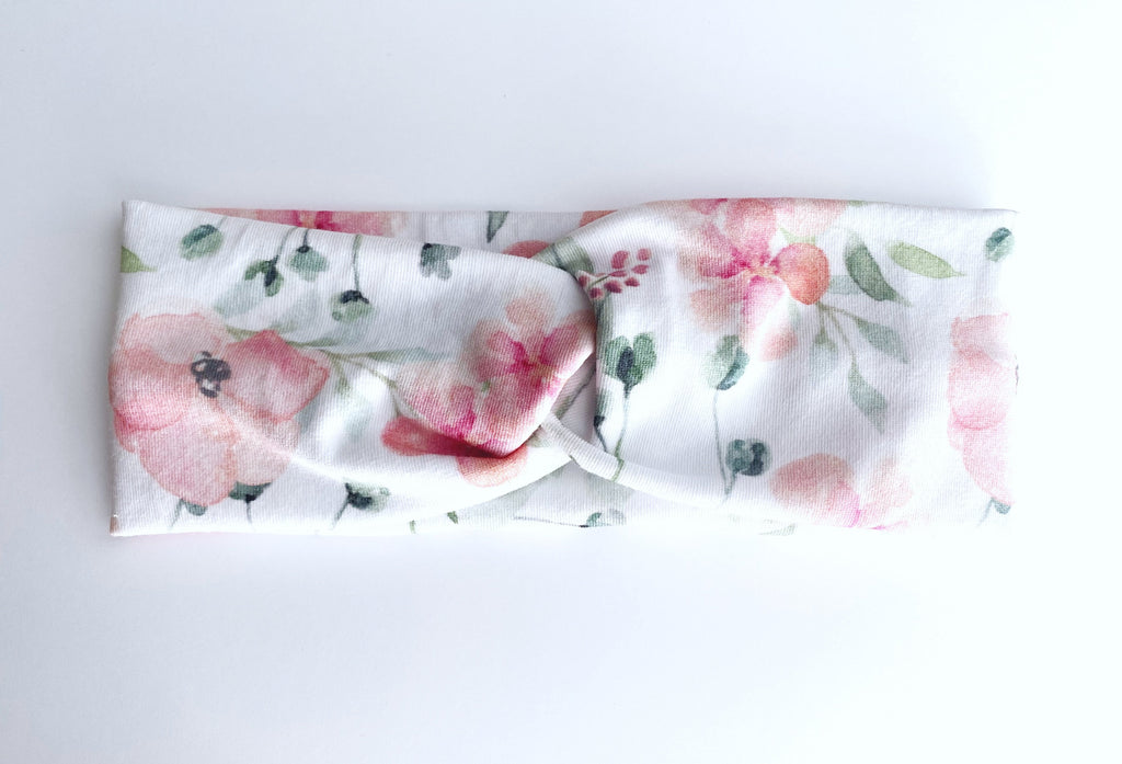 Woodland Floral Headband--Womens Artisan USA American Made Clothing Accessories