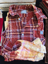 Bleached Flannel--Womens Artisan USA American Made Clothing Accessories