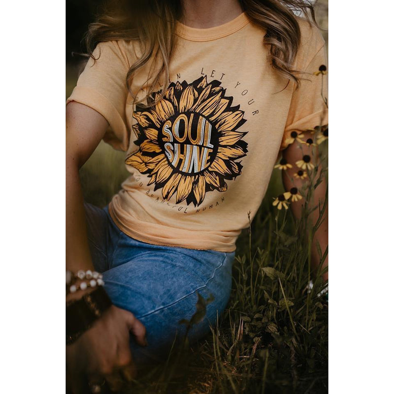 Darlin Let Your Soul Shine Tee