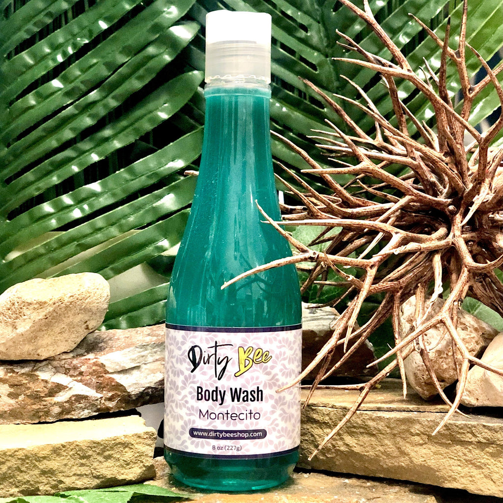 Montecito Body Wash-Bath & Body, body, Body Wash, Dirty Bee, Dropship, Montecito, Soap-Womens Artisan USA American Made Clothing Accessories