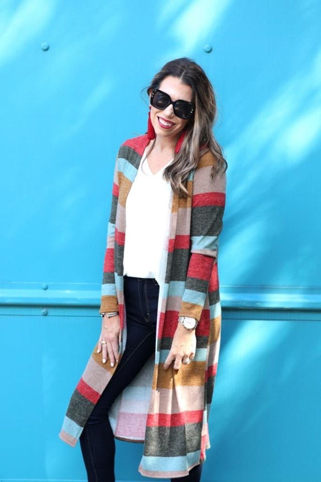 Festive Stripe Sweater