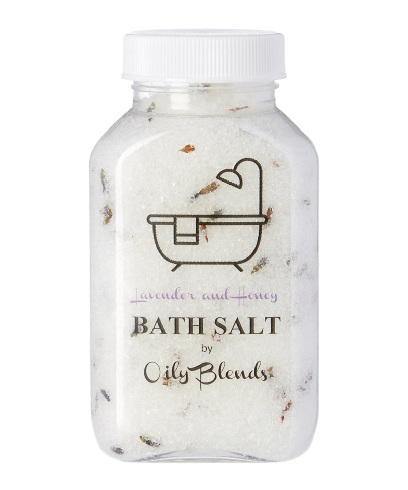 Bath Salts-Lavender and Honey-Womens Artisan USA American Made Clothing Accessories