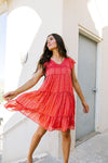 Layered Delight Dress-1XL, 2XL, 3XL, 7-28-2020, 8-7-2020, Bonus, Dresses, Group A, Group B, Group C, Large, Medium, Plus, Small, XL, XS-Womens Artisan USA American Made Clothing Accessories