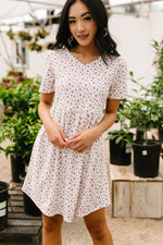 Mini Floral Mini Dress-1XL, 2XL, 3XL, 6-30-2020, 7-10-2020, BFCM2020, Bonus, Dresses, Group A, Group B, Group C, Group D, Group T, Large, Made in the USA, Medium, Plus, Small-Womens Artisan USA American Made Clothing Accessories