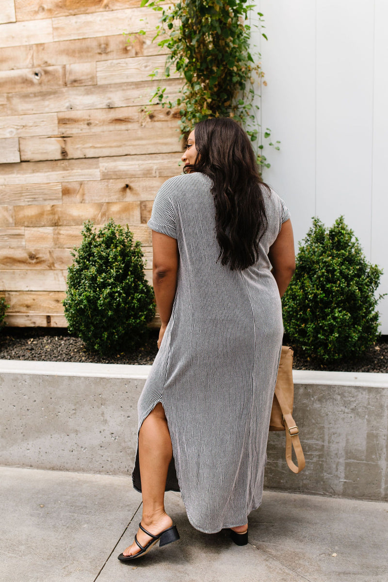 Of Two Minds Maxi Dress